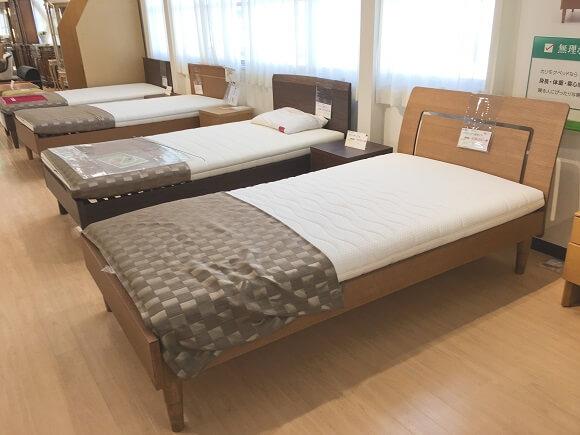 ベッドコーナーの画像
