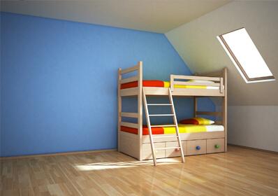 二段ベッドのイメージ