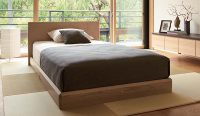 シモンズのベッド画像