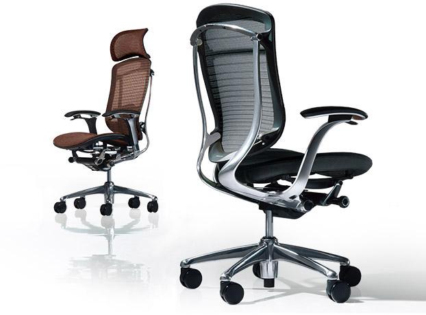 オカムラの椅子の画像