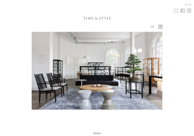 TIME&STYLEHP画像